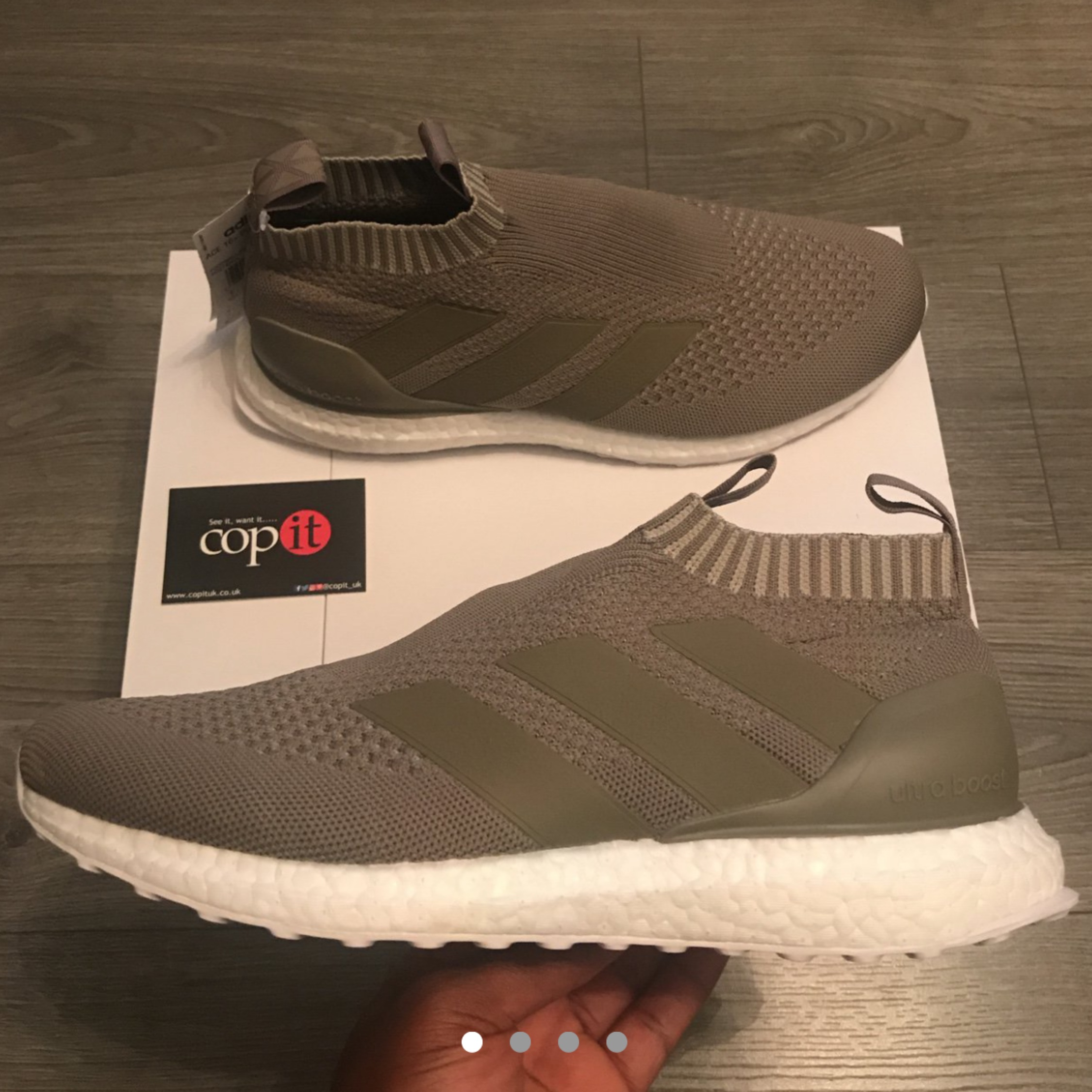 best service 1960e 2e137 Adidas Ace16+ Purecontrol Ultra Boost Clay Sesame