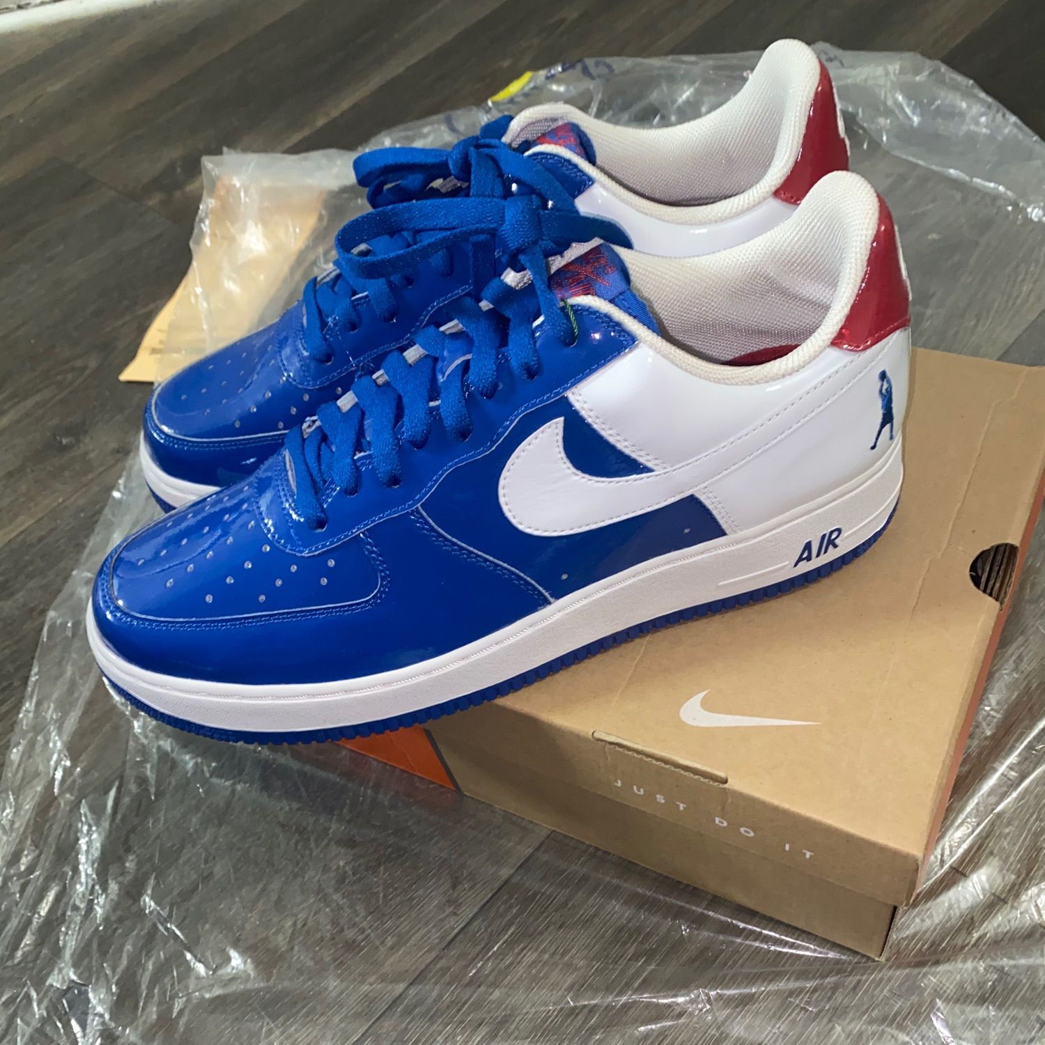 Air Force 1 Sheed Low Blue Jay