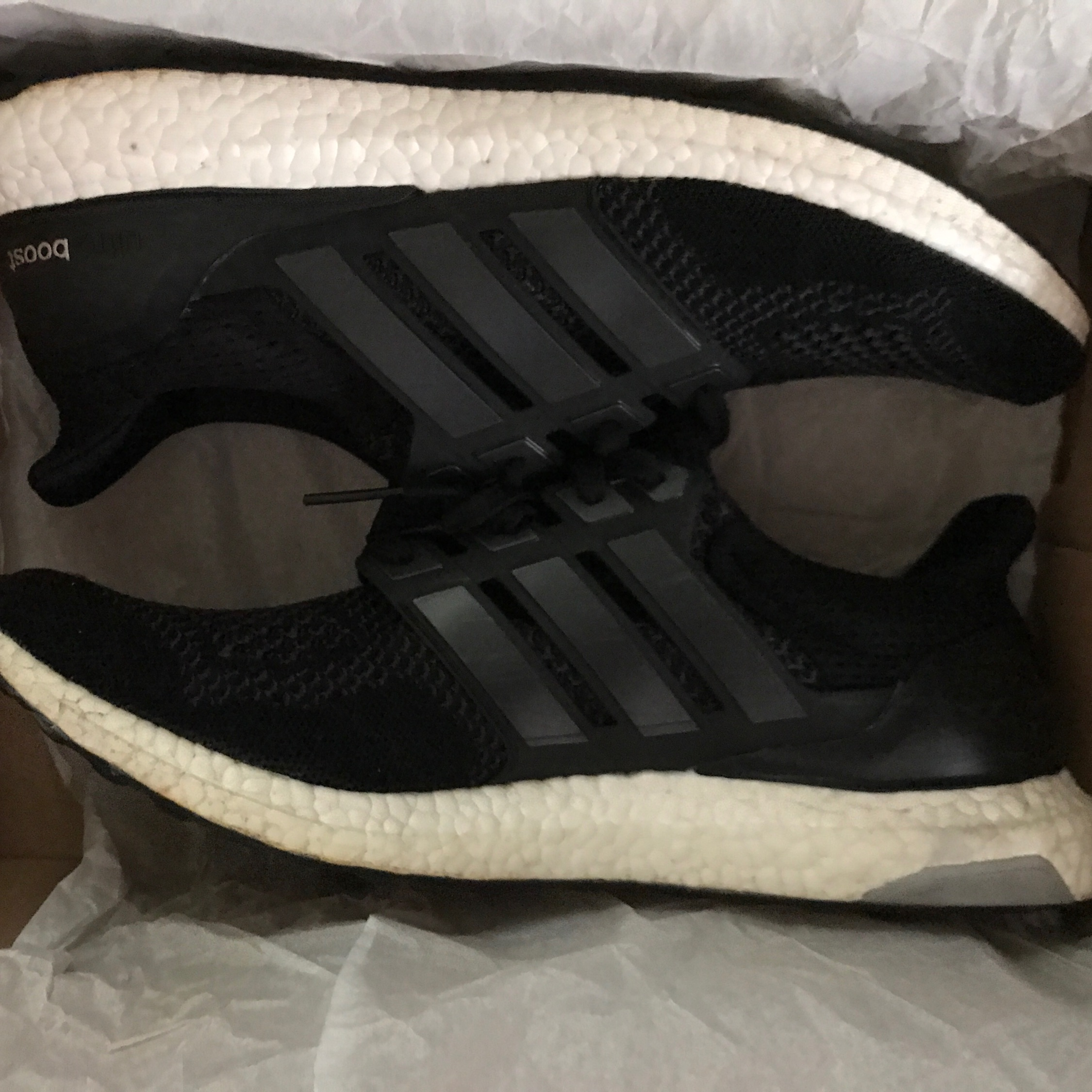 new style 042d6 40dd2 Adidas Ultra Boost 1.0 Og Core Black
