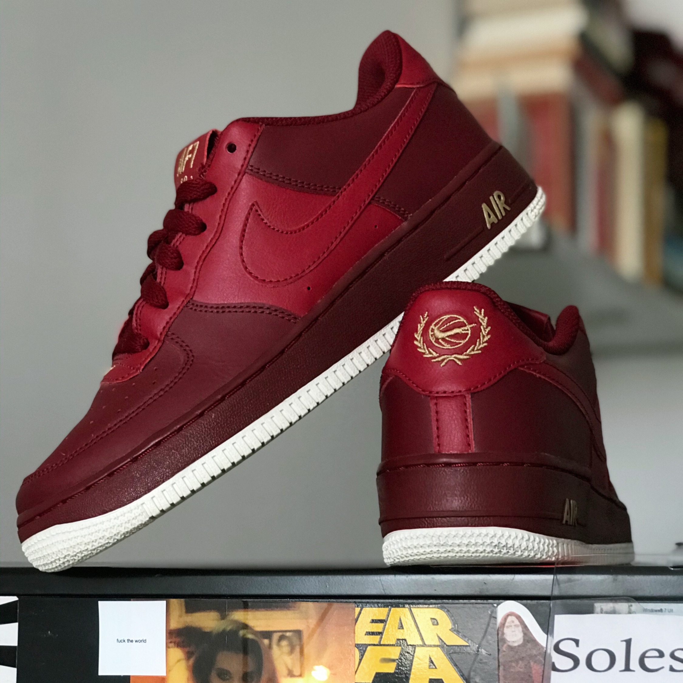 Air Force 1 Low NBA Team Red