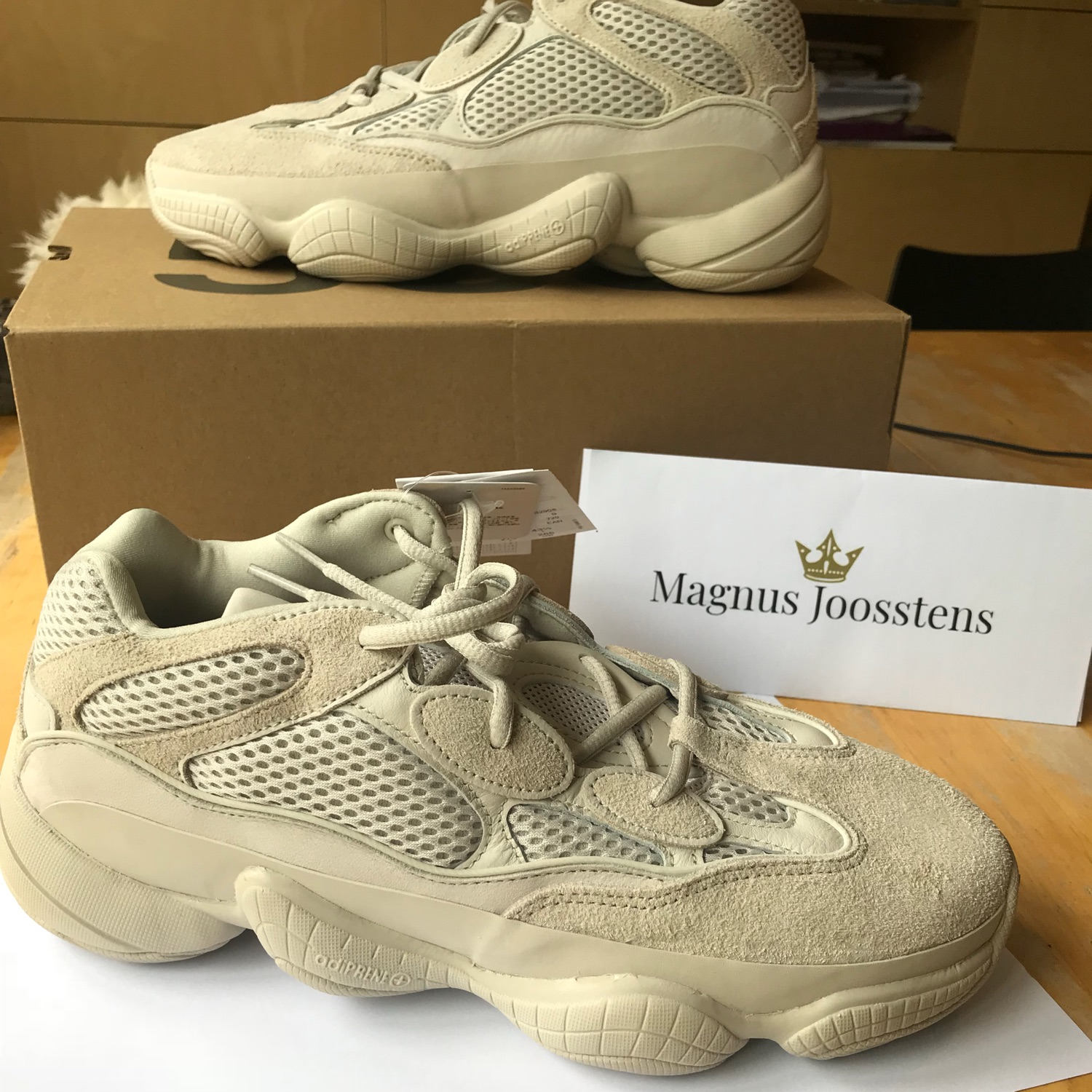 "low priced 96f20 8e782 Yeezy 500 ""Blush"" 9.5 Us"