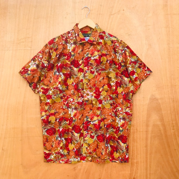 Lyle & Scott Art Abstract Floral Painted Design