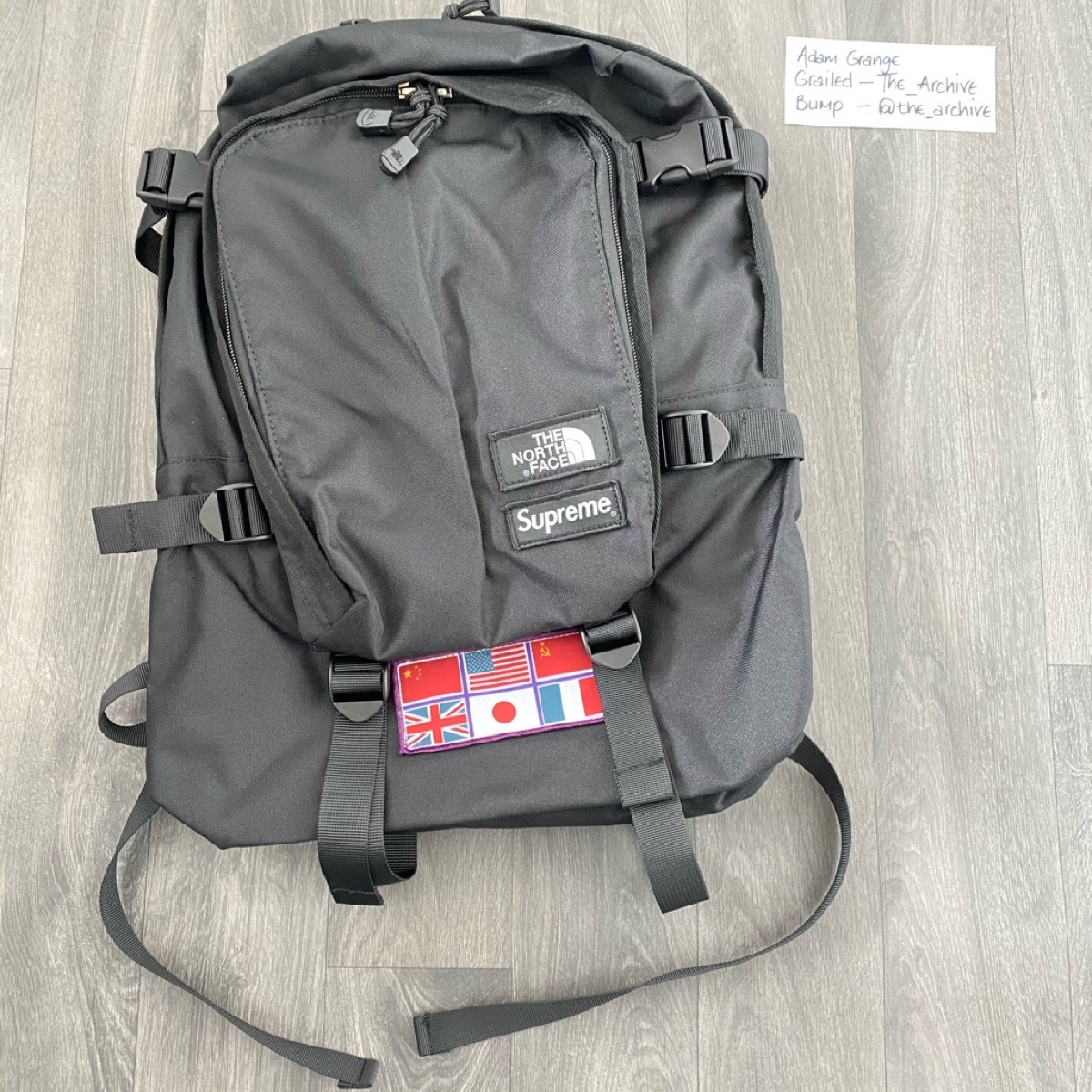 Supreme x the north face expedition SS14 backpack