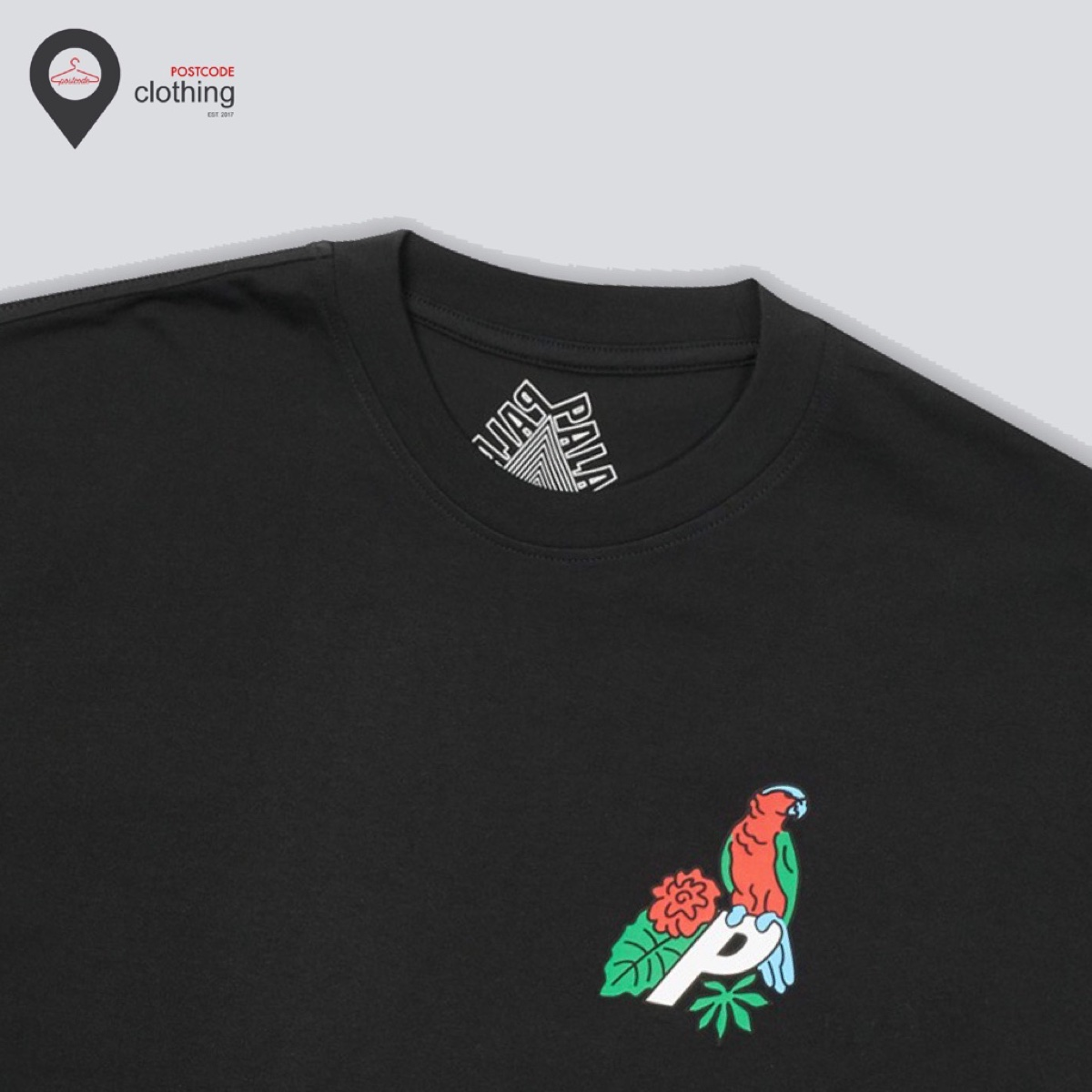 Palace-3 Parrot T-Shirt Black