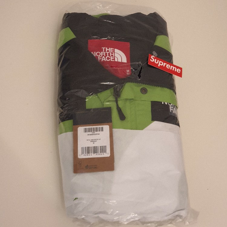 Supreme The North Face S Logo Mountain Jacket Green