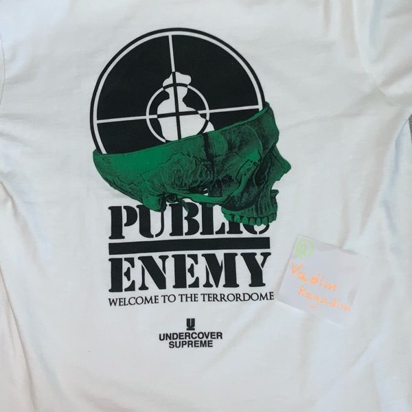 Supreme-Undercover-Public Enemy T-Shirt L (Used)