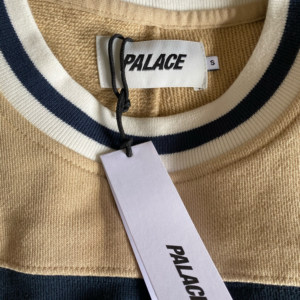 Palace Quilter Crew Navy