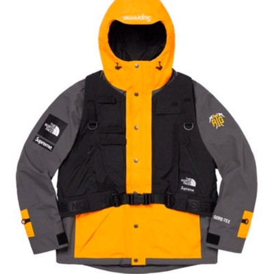 Supreme The North Face RTG Jacket Yellow