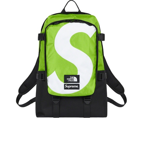 Supreme The North Face S Logo Expedition Backpack Green