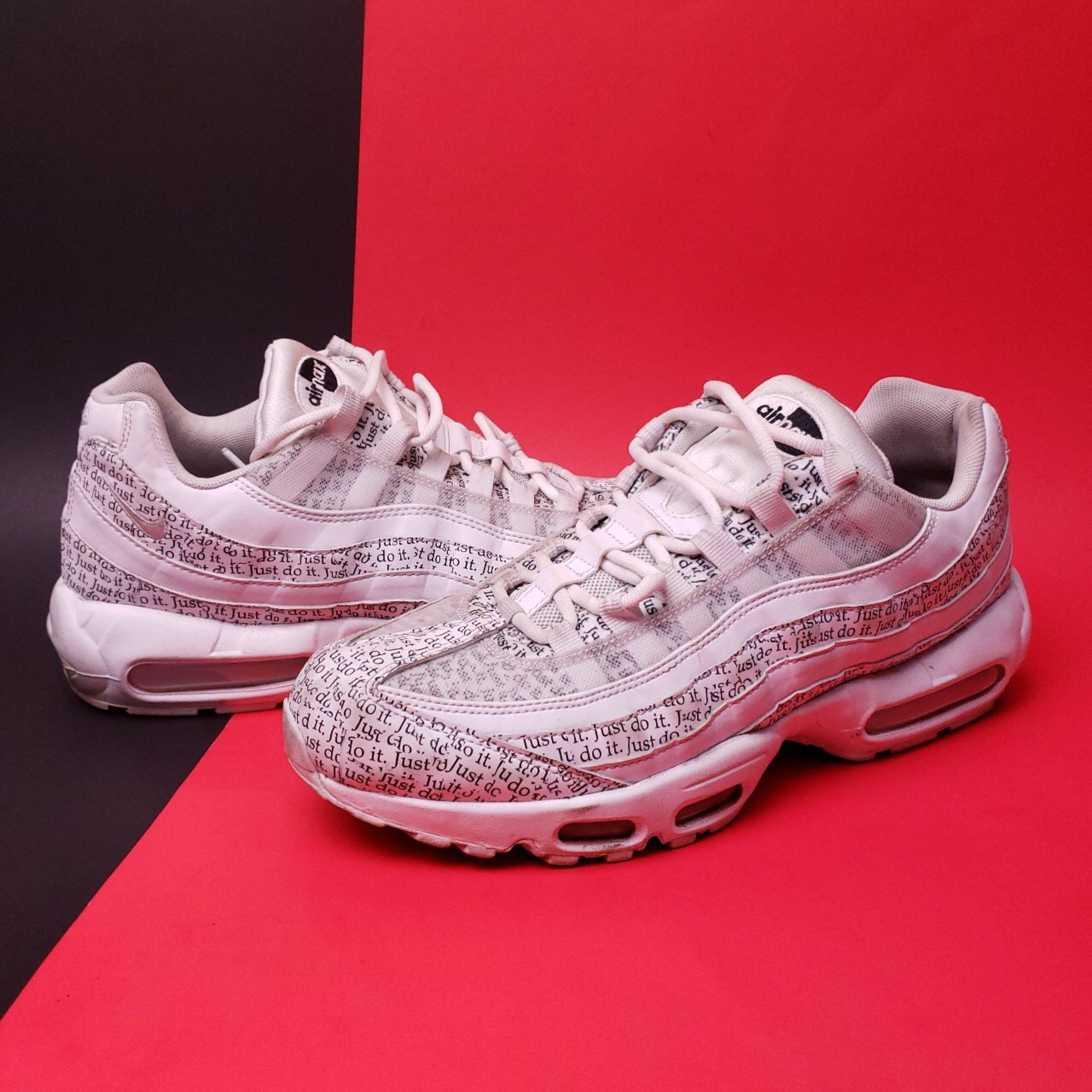 the best attitude eedd9 314c4 Nike Air Max 95 Just Do It