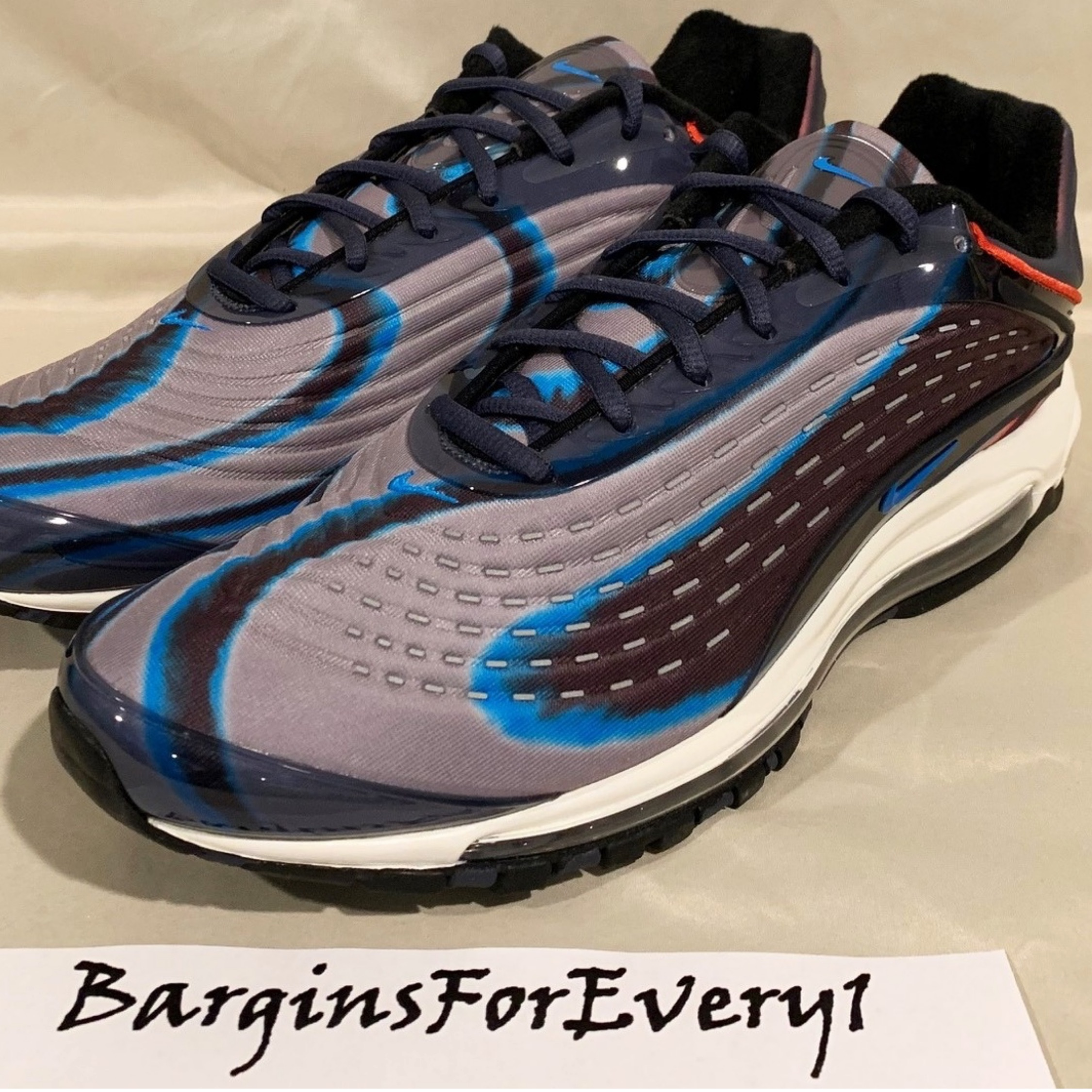New Nike Air Max Deluxe Thunder BluePhoto Blue