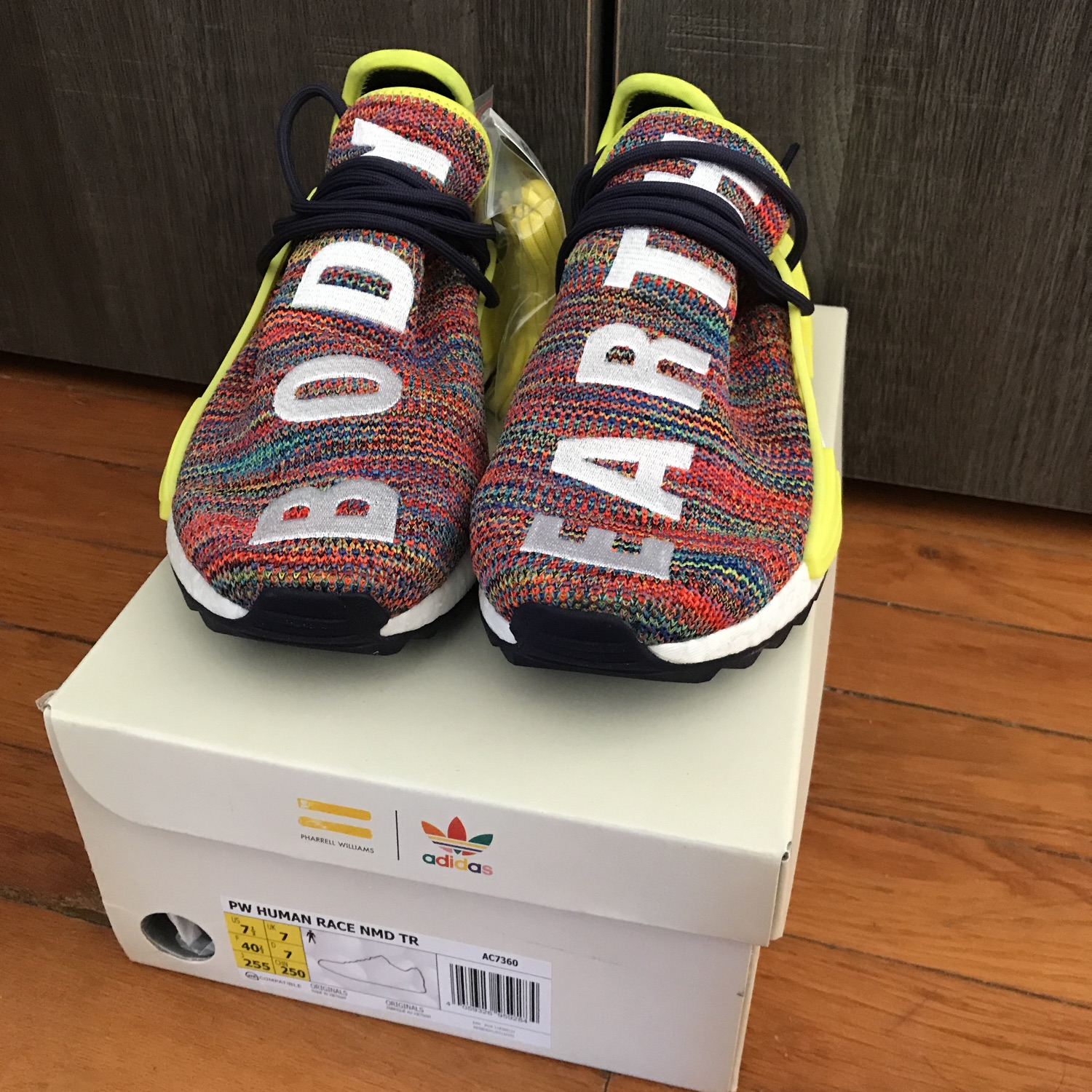 official photos 07e81 28738 Adidas Pharrell Human Race Multi Under Retail !!!