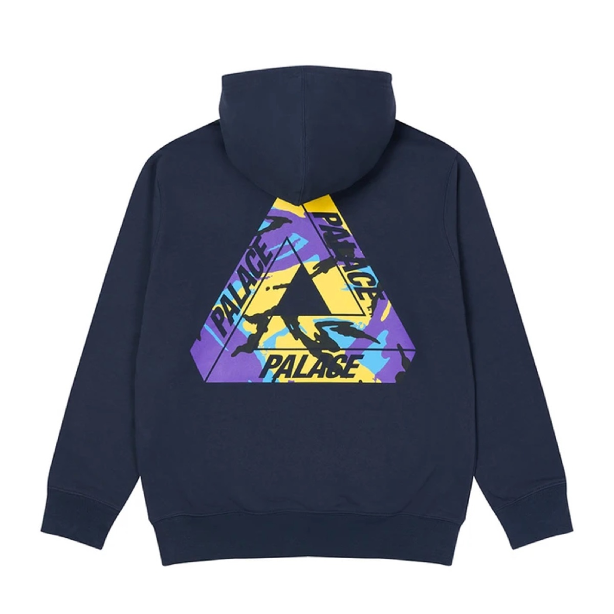 Palace Tri Camo Hood This Lockdown Navy