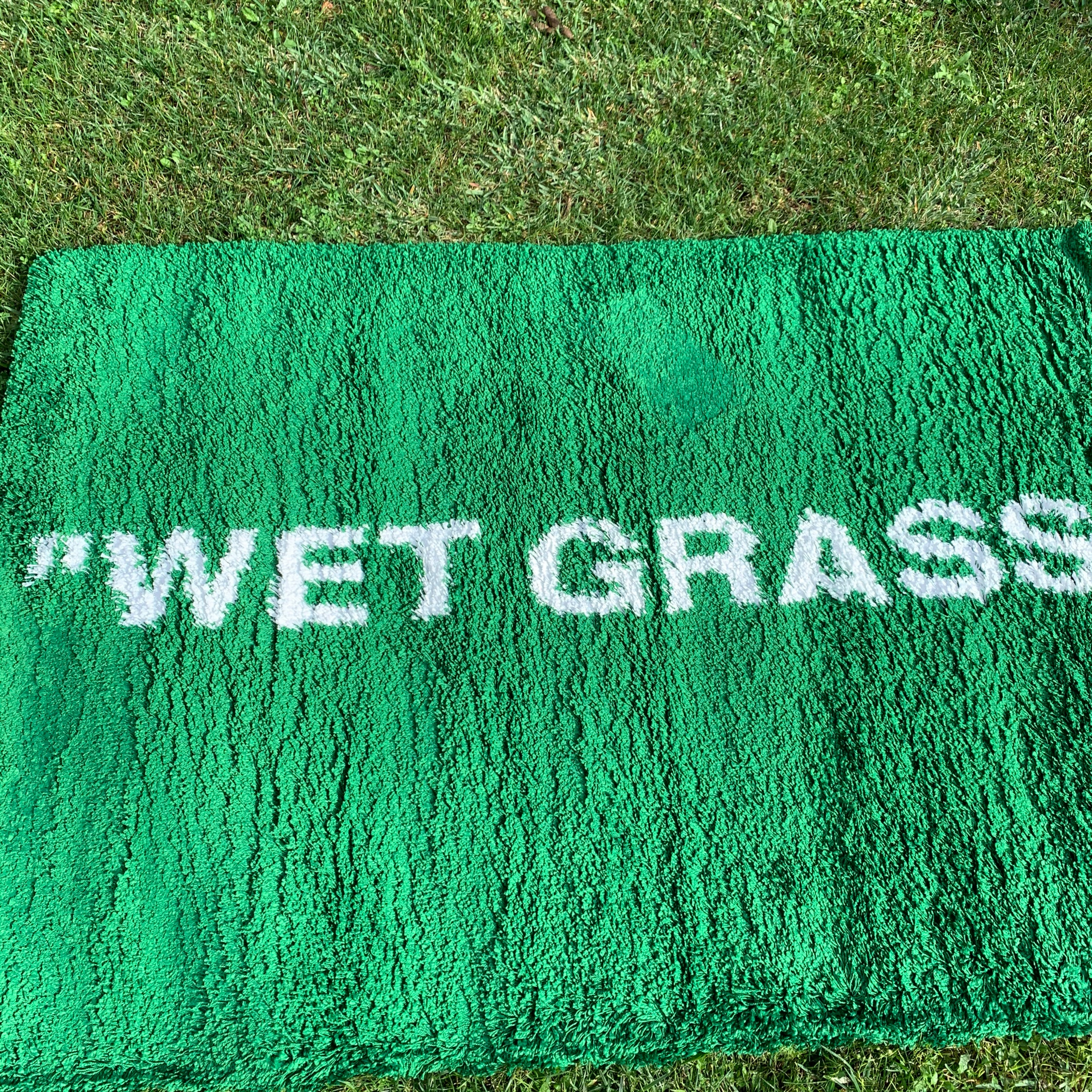 Ikea X Virgil Abloh Rug Wet Grass