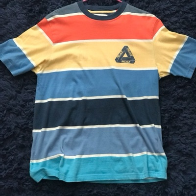 Palace Wise On T Shirt Blue Size Medium