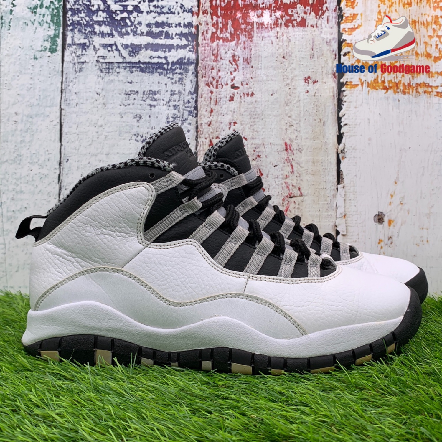 premium selection a14e8 04085 Nike Air Jordan 10 Steel