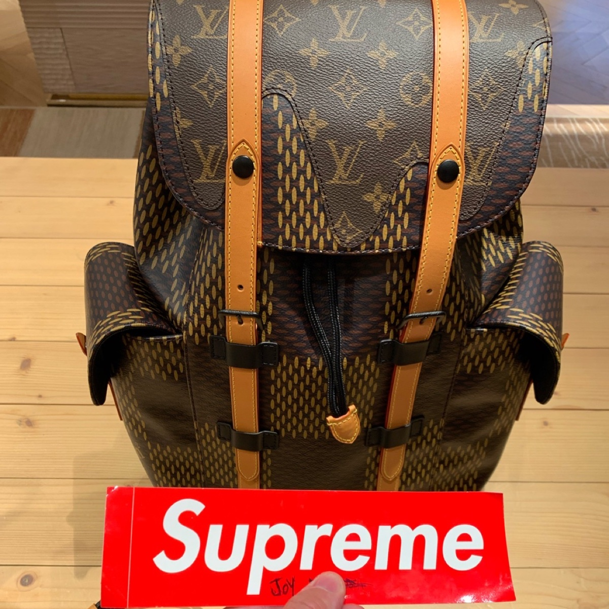 Louis Vuitton x Nigo backpack Christopher