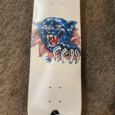 Palace Skateboard Deck Ripped Tiger