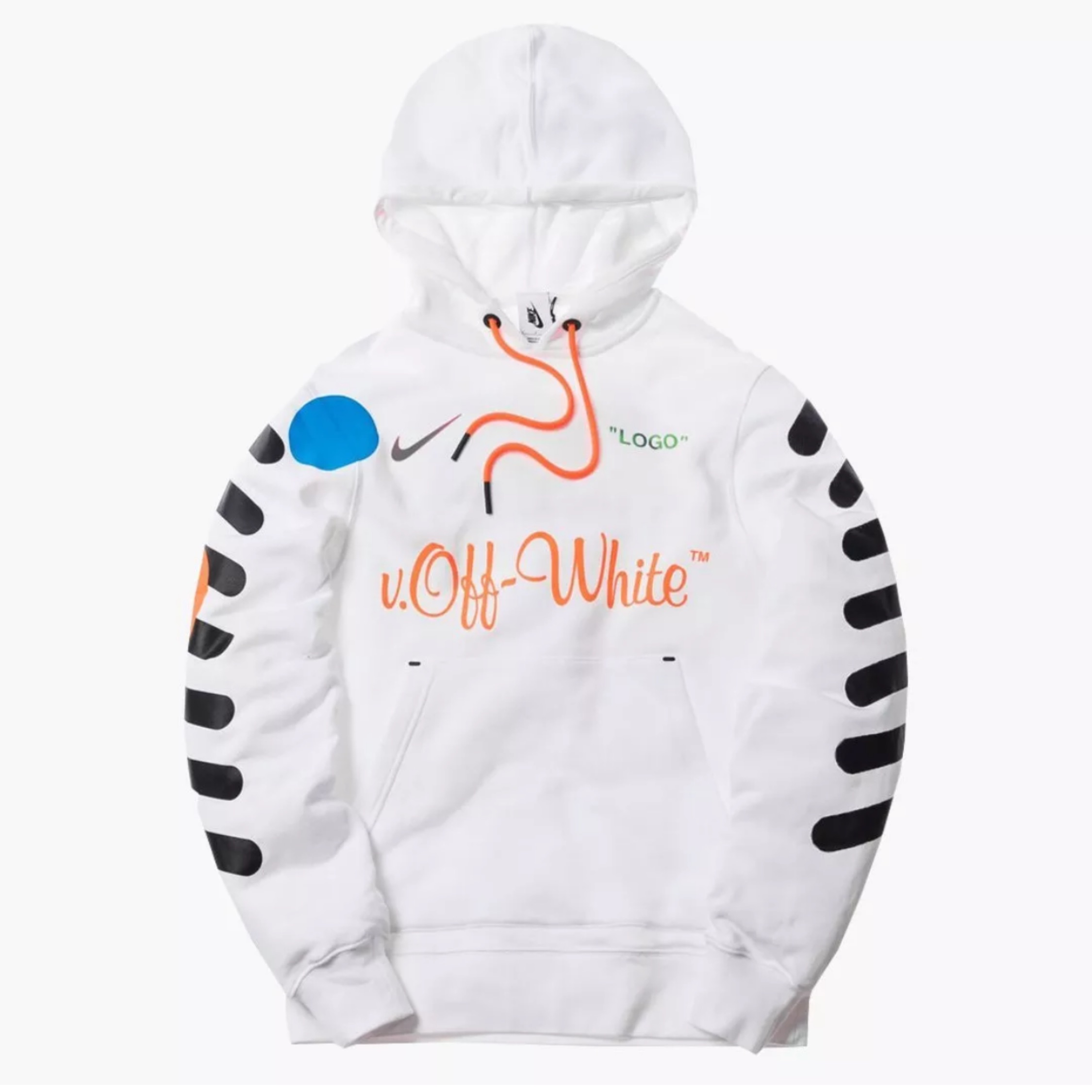 finest selection 35e2f 6ede7 Nike Lab X Off White Football Hooded Pullover