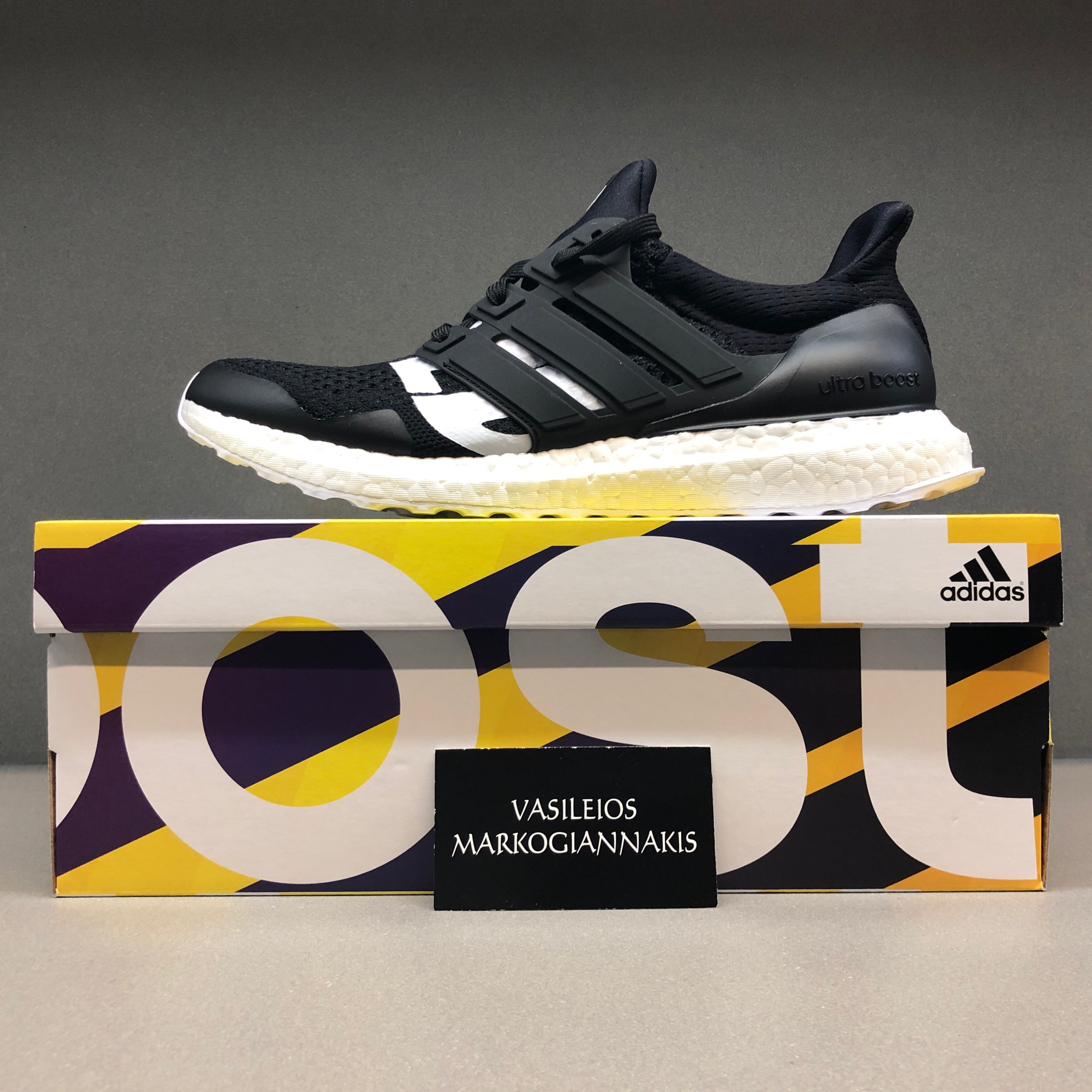watch 9d0a8 66e58 Adidas Ultra Boost 4.0 Black X Undefeated