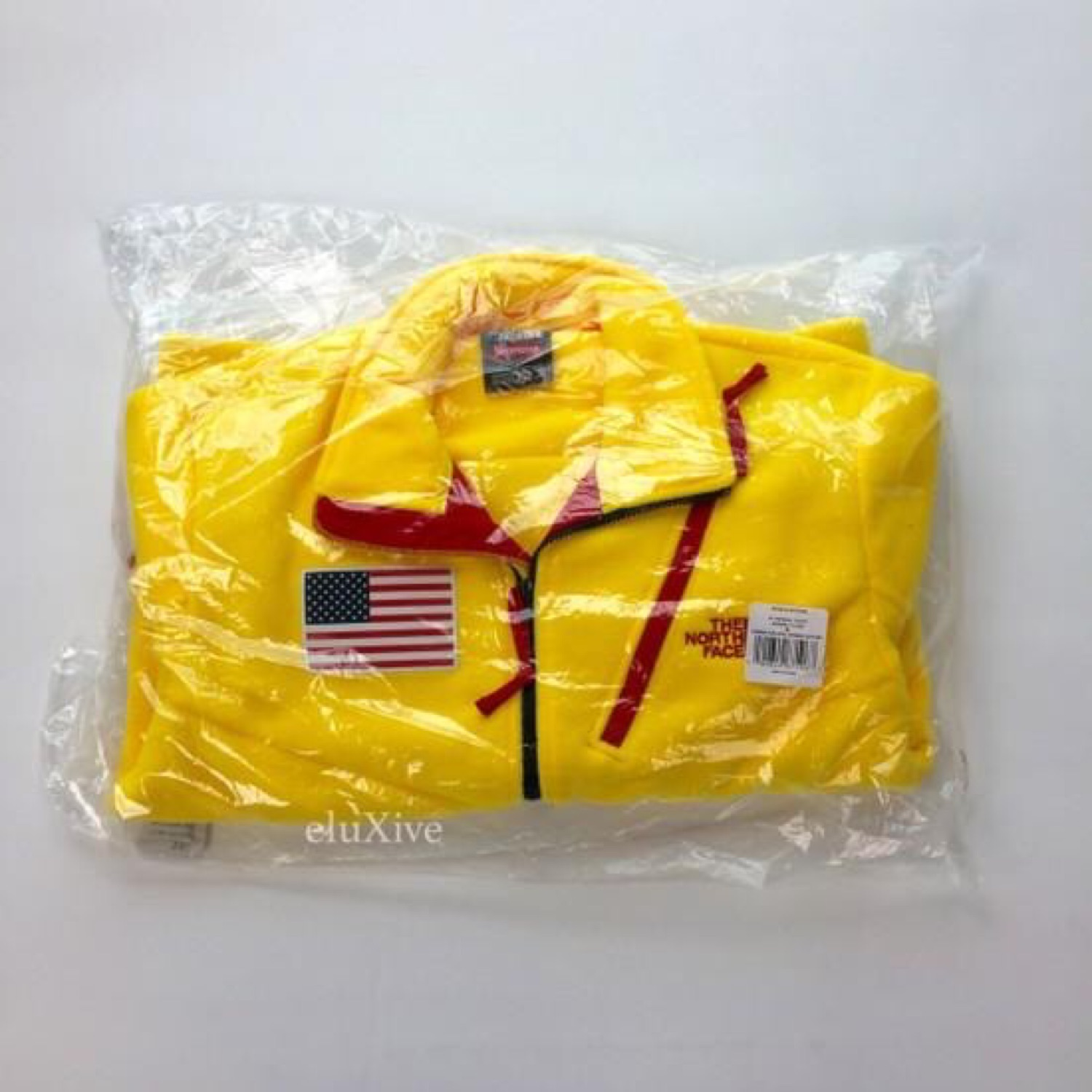 Supreme X Tnf Yellow Trans Antartica Expedition