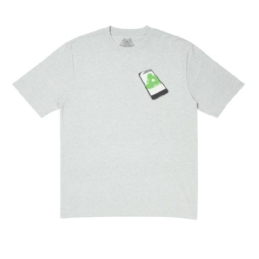 Palace Tri-Phone T-Shirt Grey L