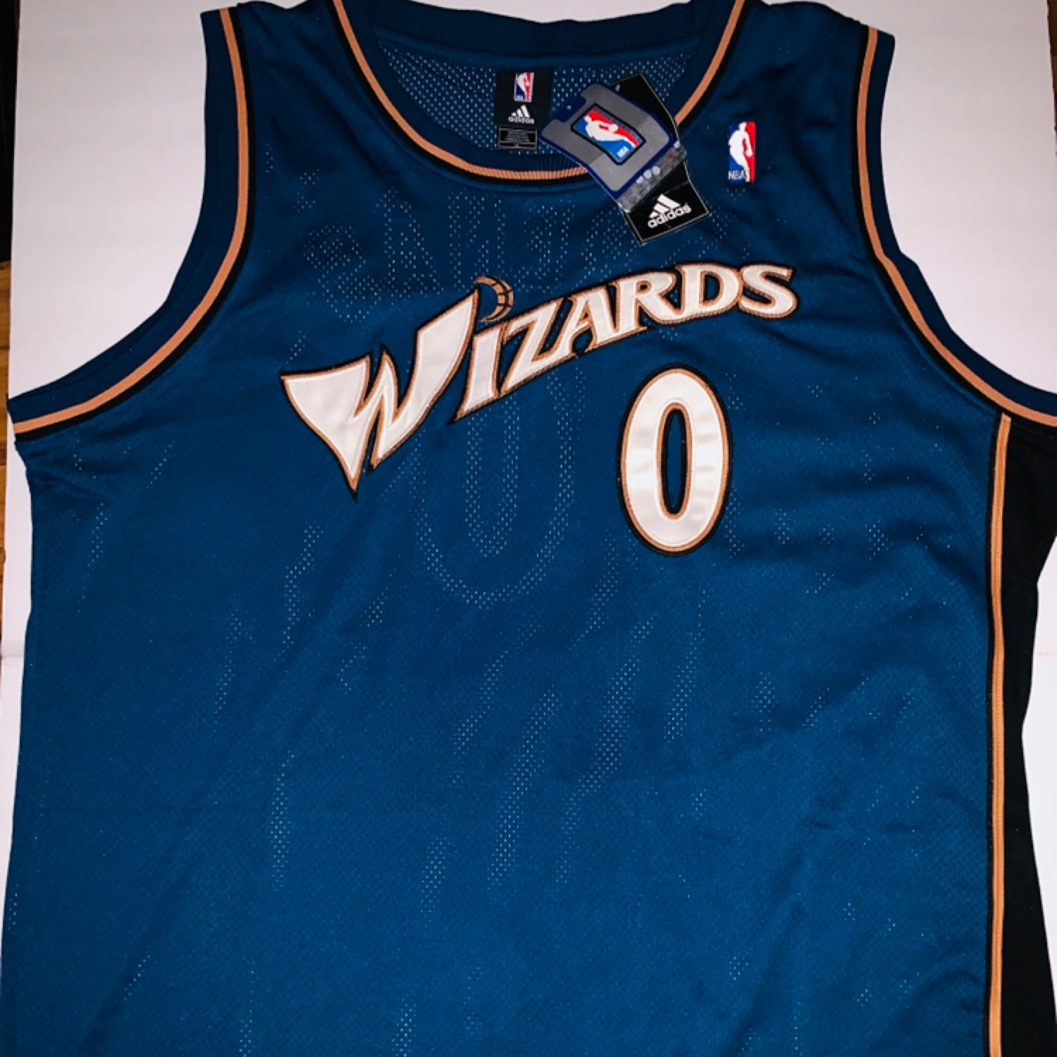 "9c9e4f16a Adidas-Washington Wizards ""Gilbert Arenas"""