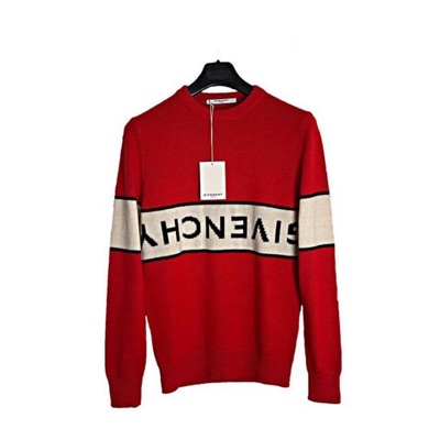 Givenchy Red Crewneck Jumper Real Men's