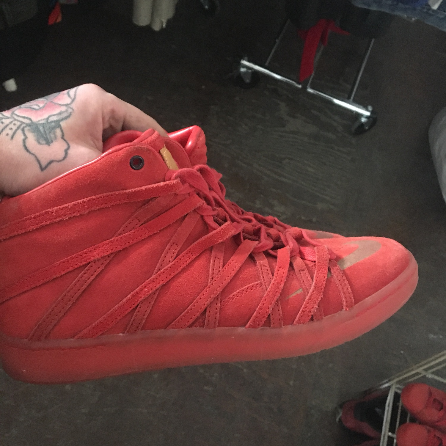 new product fefc8 e25a1 Nike Kd 7 Nsw Lifestyle Weekend Red Suede