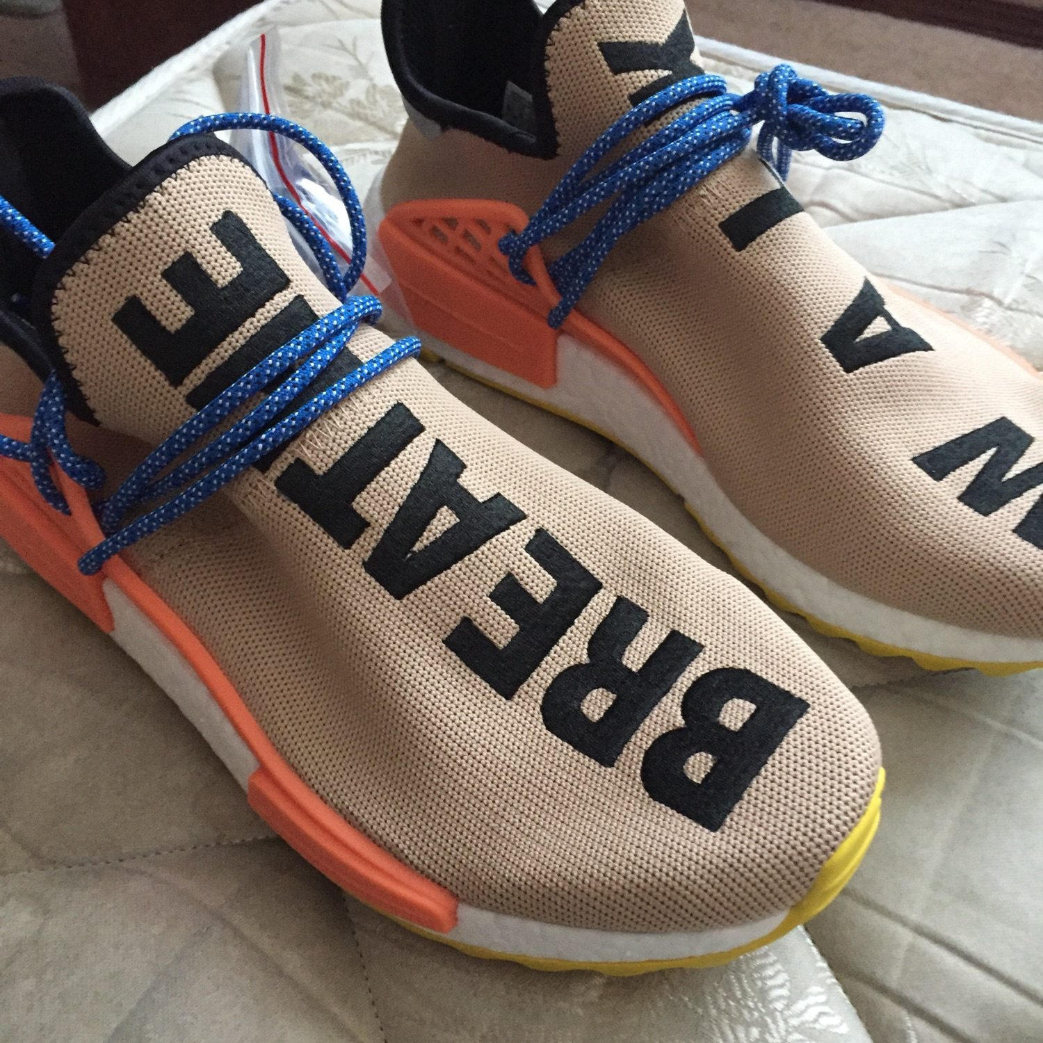 online store 04817 51e8b Pharell Human Race Nmd Trail Pale Nude Size 9.5