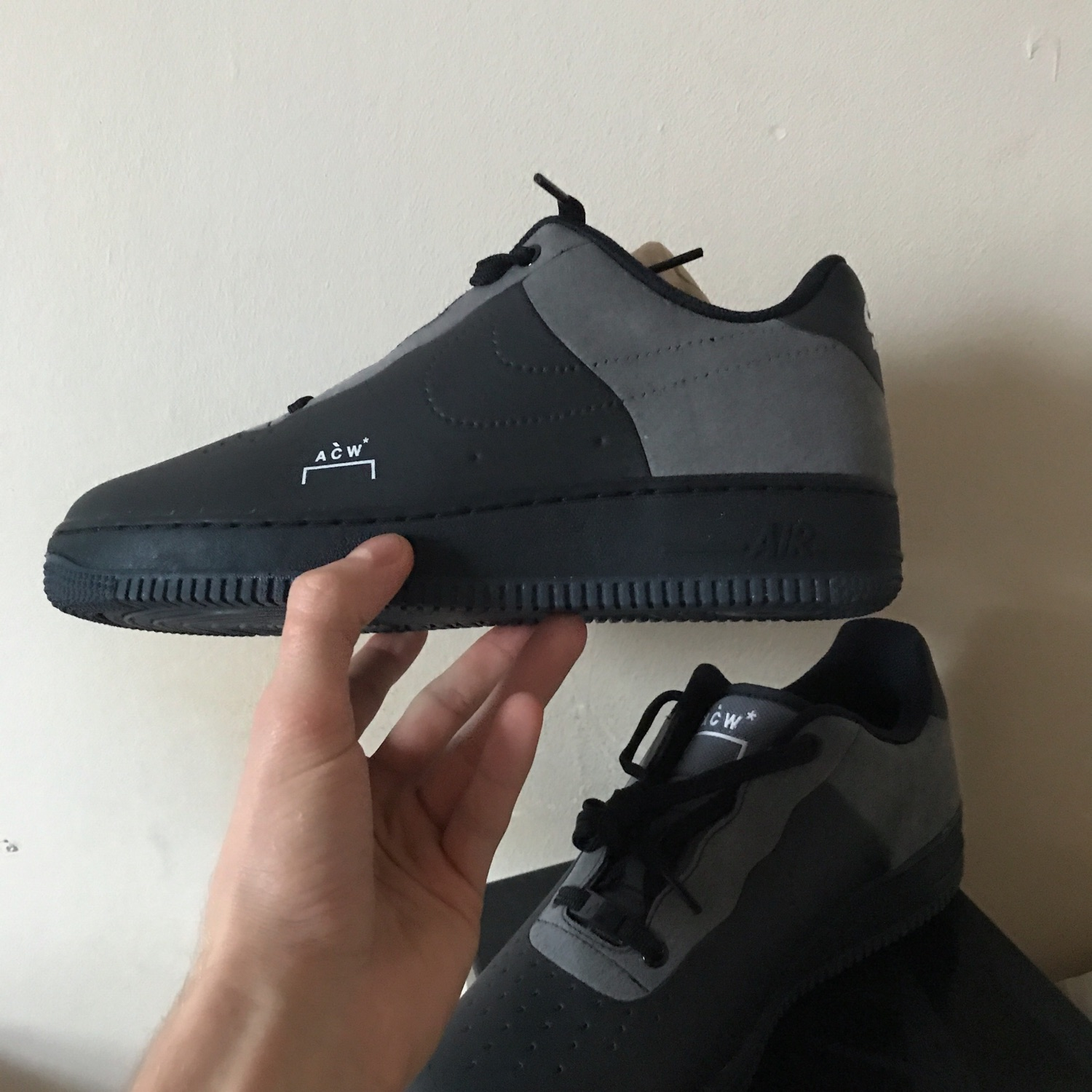 get cheap f0efd d2a22 Nike Air Force 1 Low X A Cold Wall Acw Black