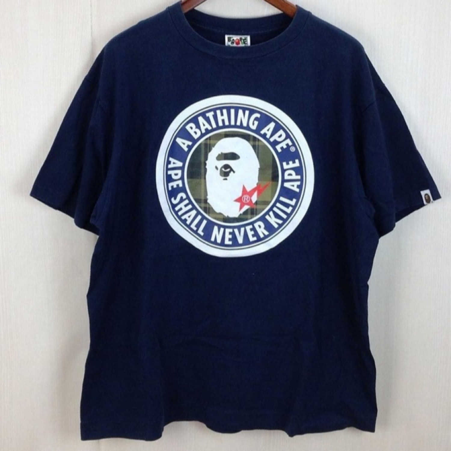 timeless design b2459 6b487 A Bathing Ape Stussy Survival Of The Fittest Tee