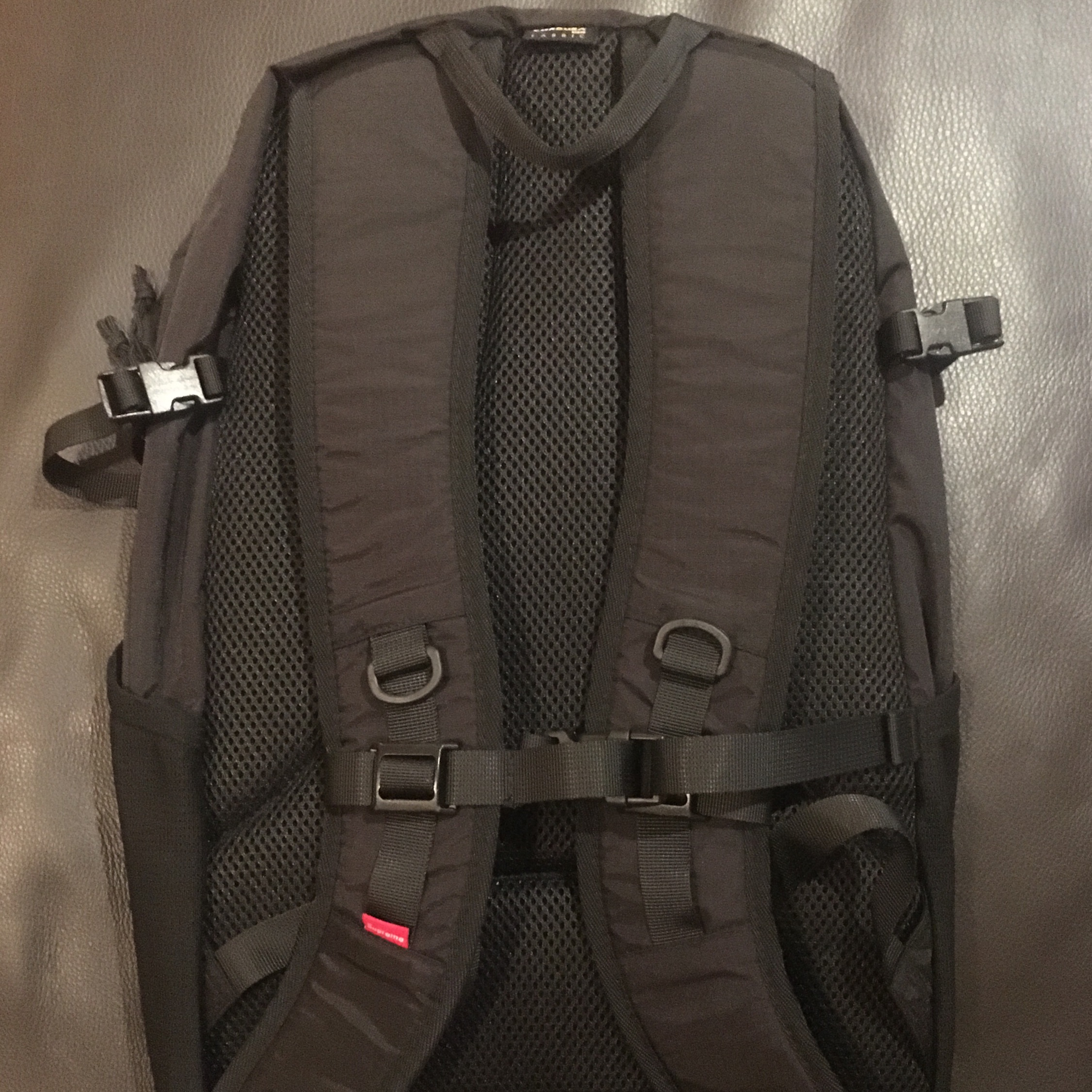 6a47007f8d5 *Negotiable* Supreme Ss17 Backpack Black