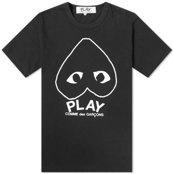 Comme Does Garcon Play Inverted Heart Logo Tee