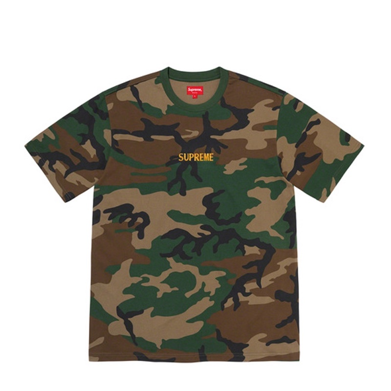 Supreme Bullion Logo SS Top Camo