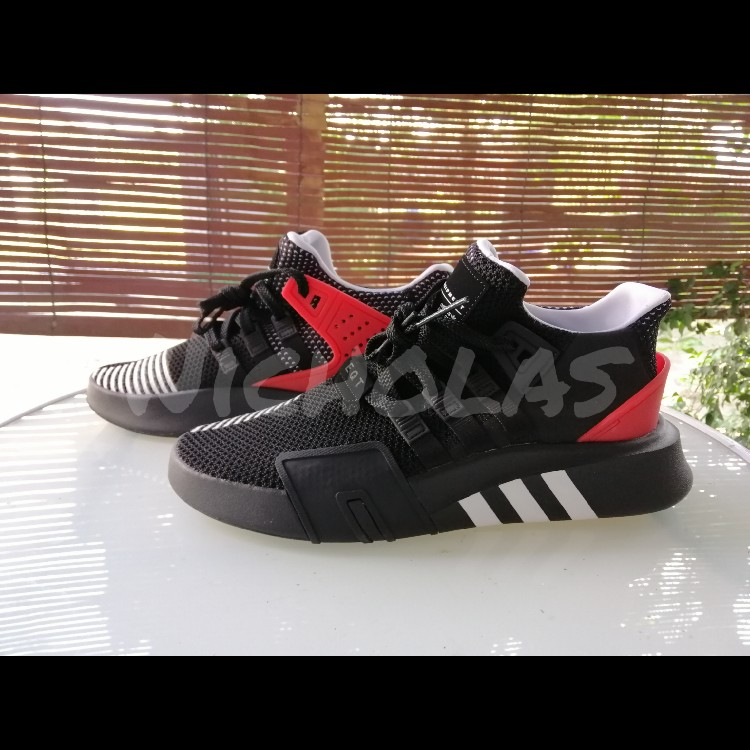 new product fcba4 a1ee6 Adidas EQT Bask ADV 'Black Red'