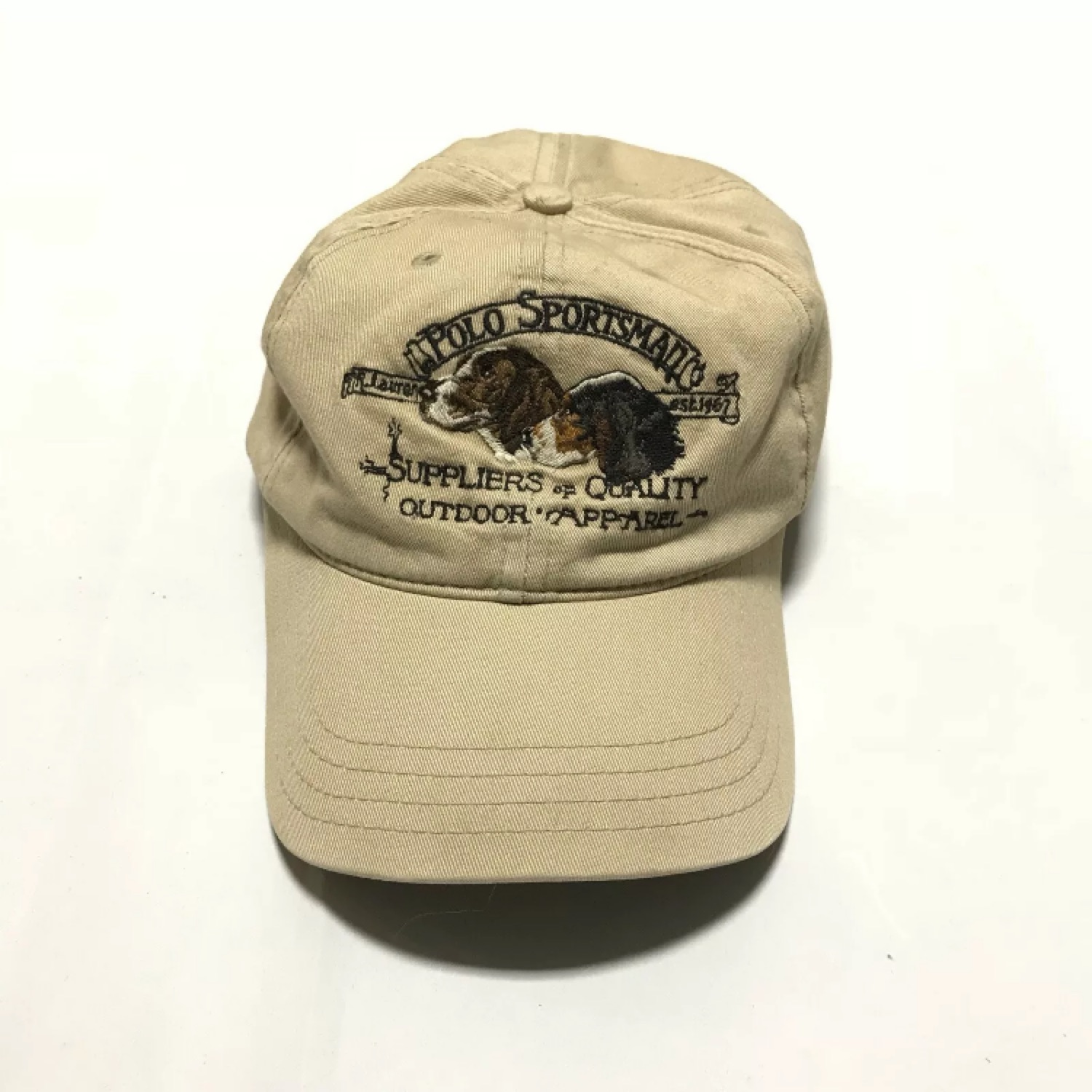 c6acc7fc2 Vintage Polo Sportsman Dog Hat Usa