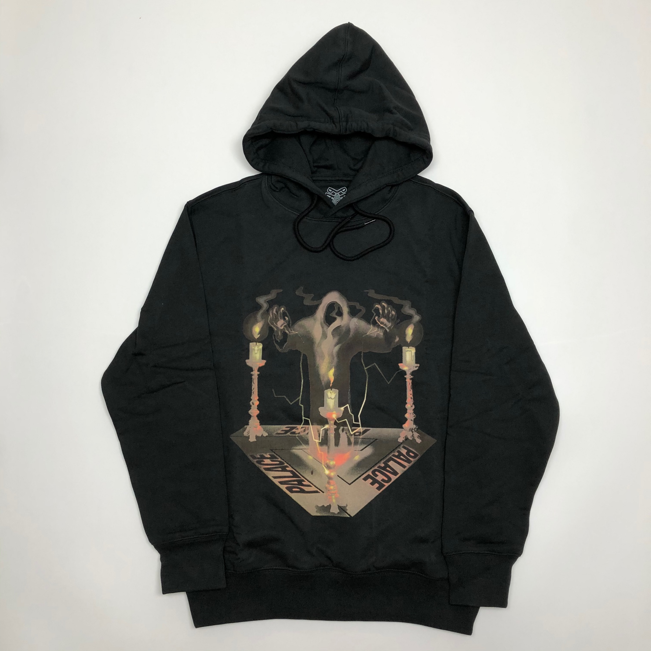 Palace Spooked Hood Black