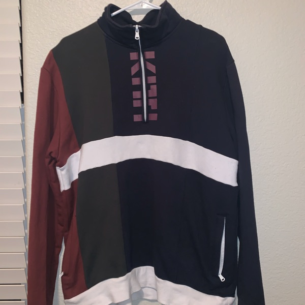 Kith 1/4 Zip Pull Over Color Blocked