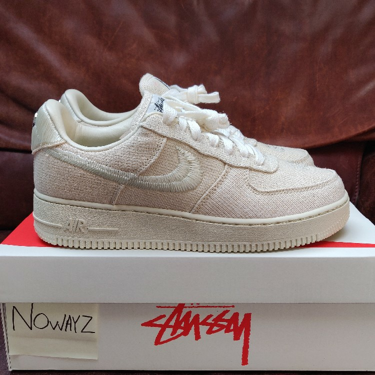 Nike Air Force 1 X Stussy Low Low Fossil