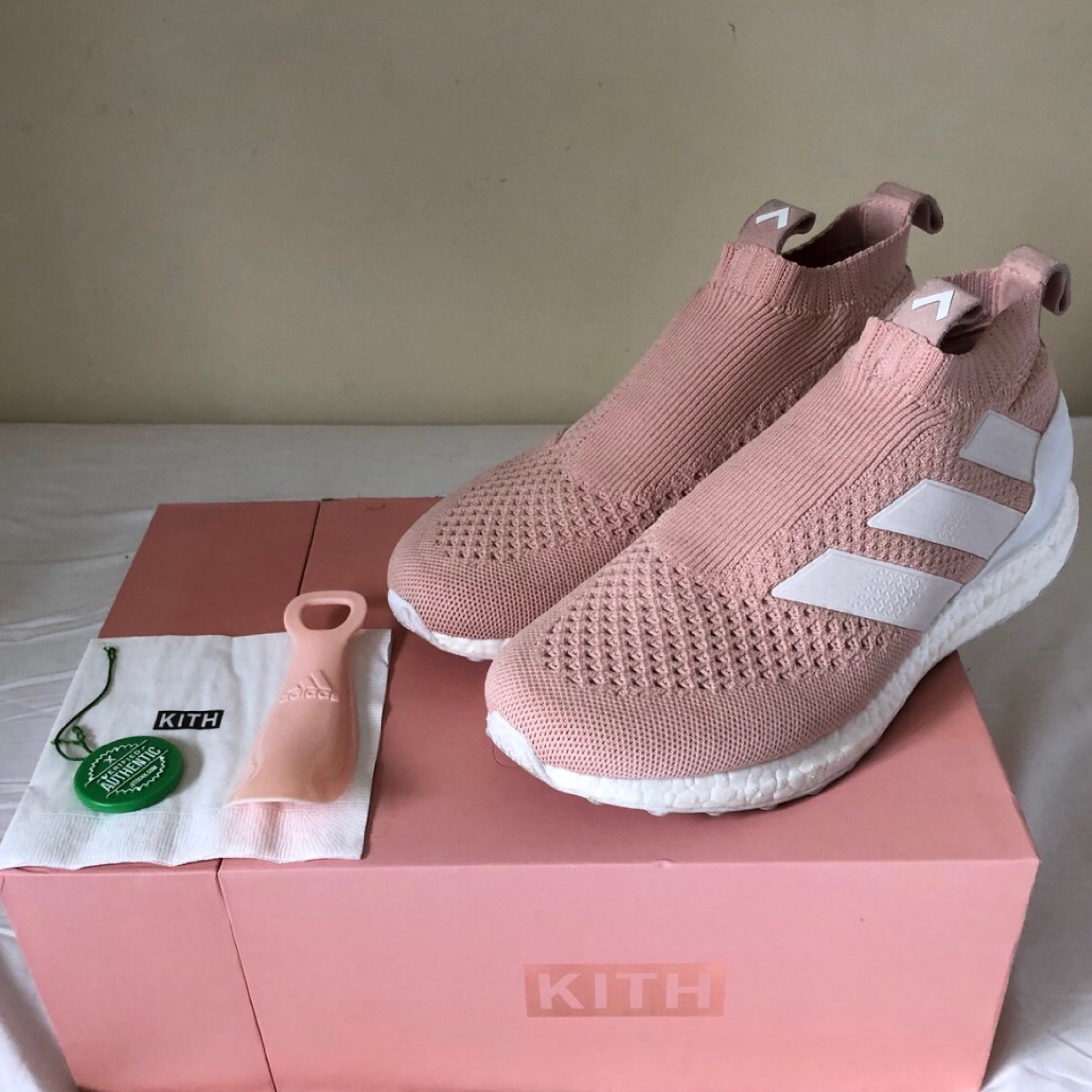 on sale 3f8e8 662bf Kith X Adidas Ace 16 Ultra Boost Uk7.5