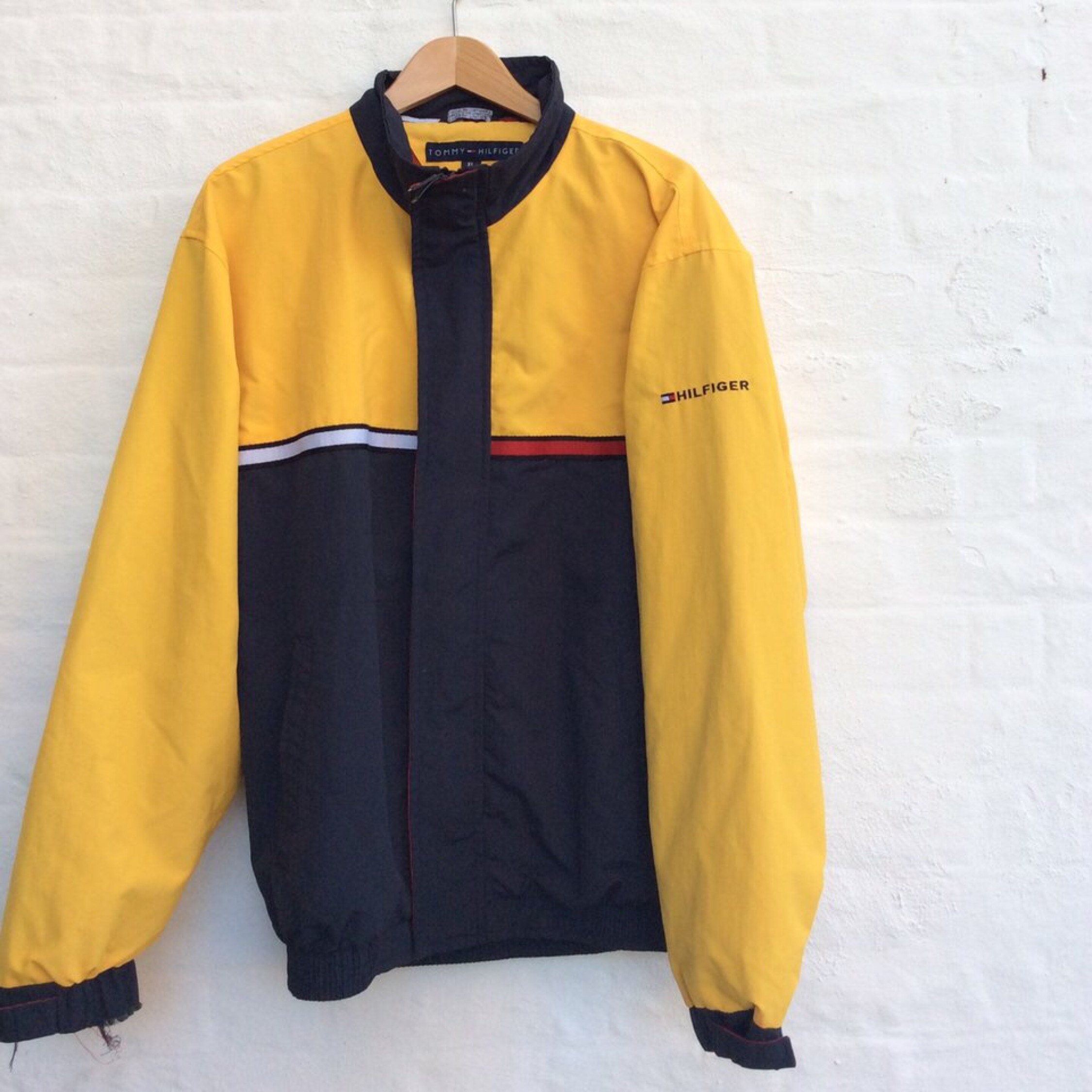 latest hot sale limited quantity Tommy Hilfiger Yellow Jacket