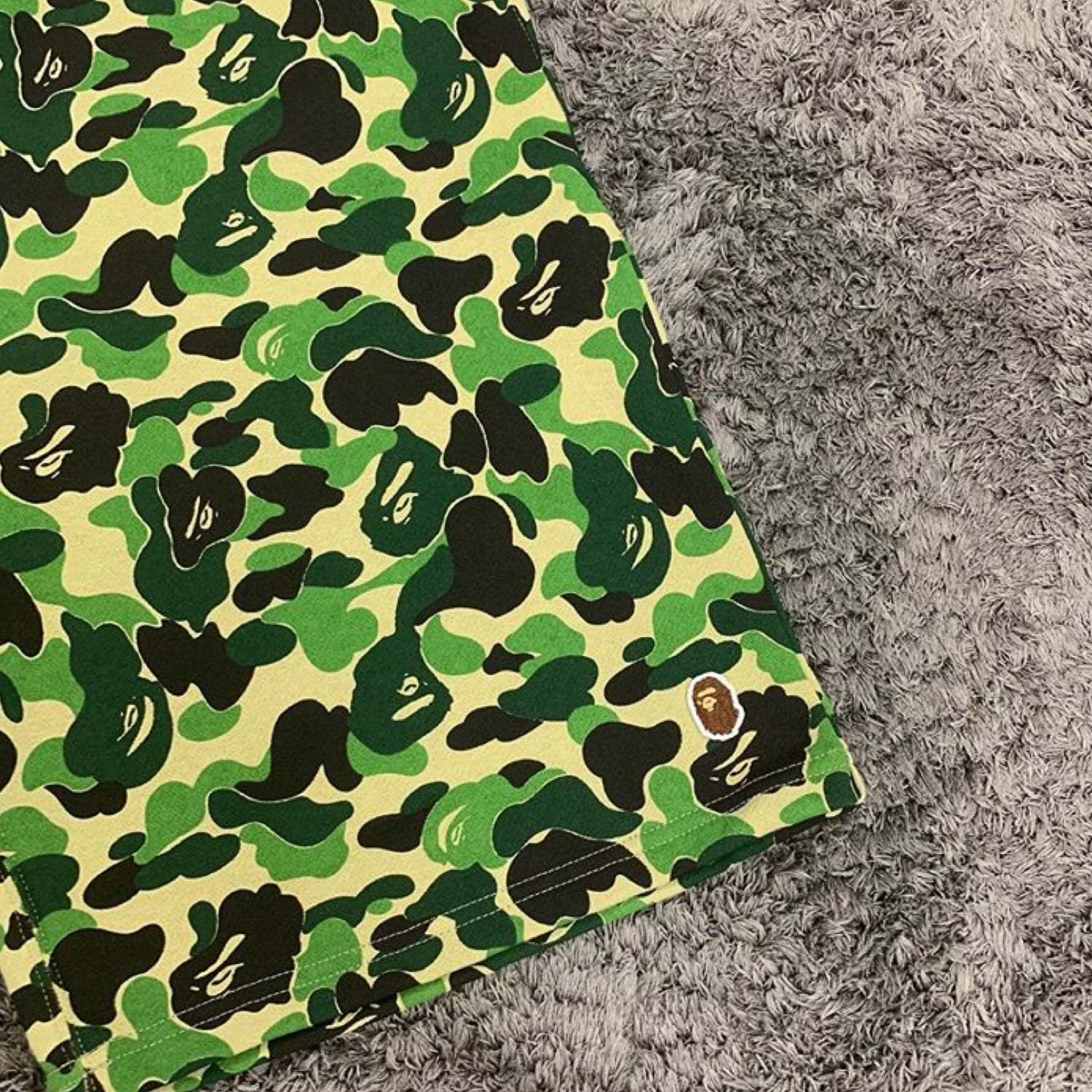Bape Abc One Point Sweat Shorts Camo