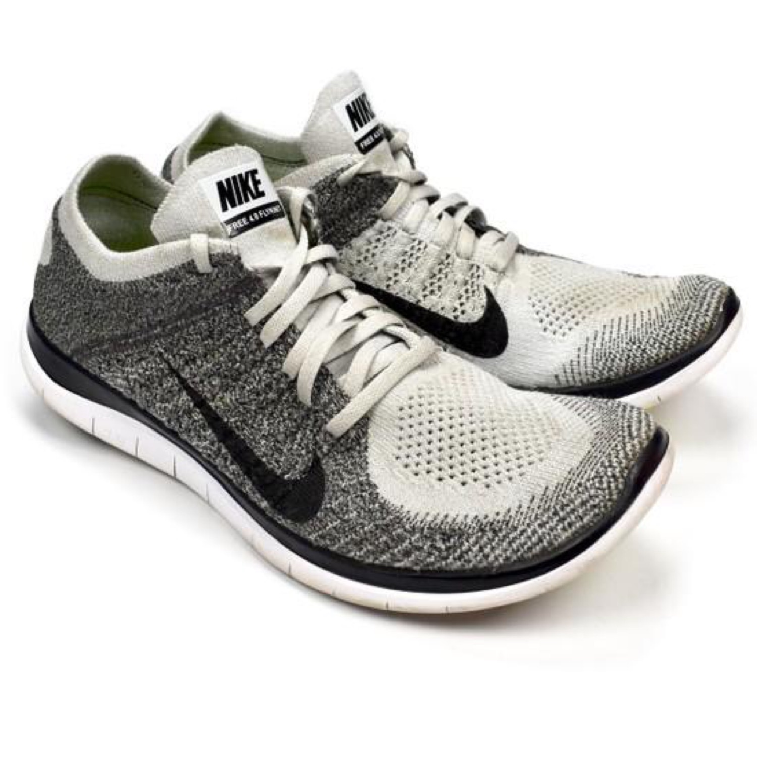 hot sale no sale tax newest collection Nike Free 4.0 Flyknit Trainer Oreo