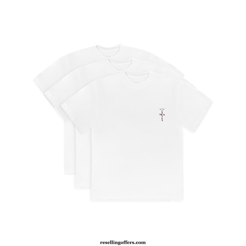 CJ White Tee 3 Pack