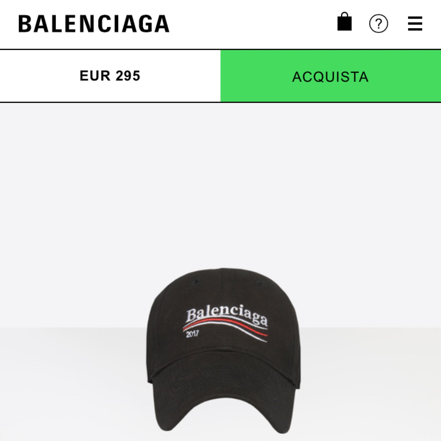 new styles new product special sales Cappello Balenciaga 2017