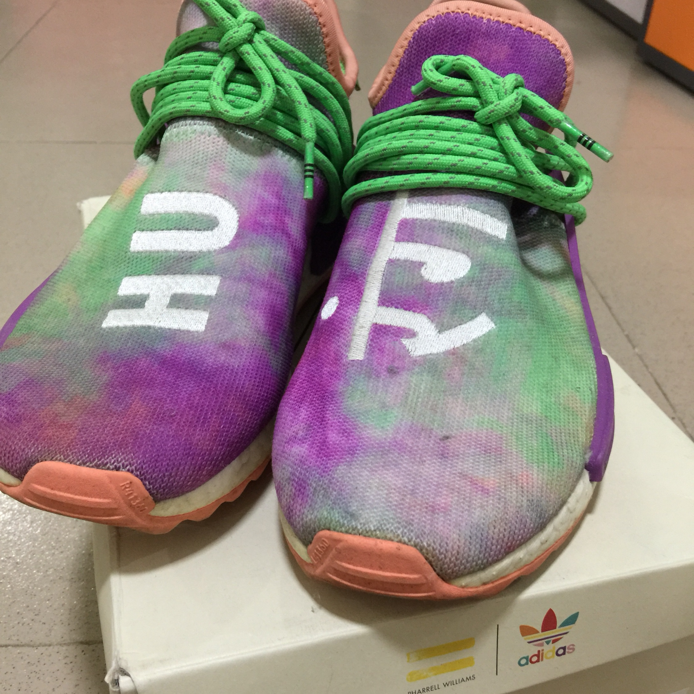huge selection of b9b60 08530 Adidas Pw Hu Holi Nmd Mc