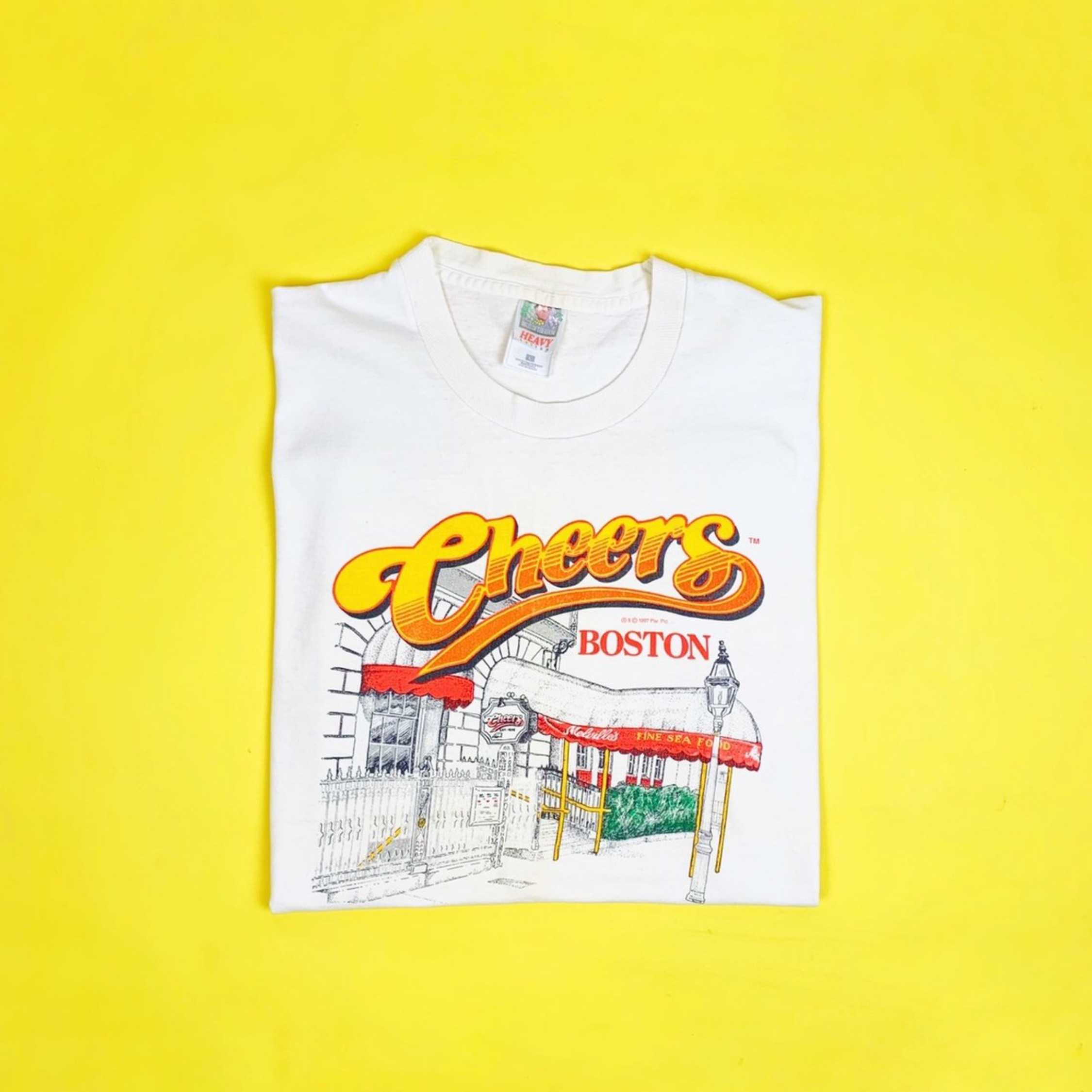 Vintage Single Stitched Cheers Tee