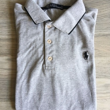 Ralph Lauren Grey Polo-Shirt
