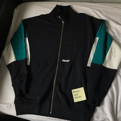 Palace S-Drop Top Black/Teal